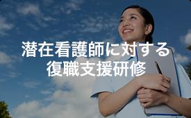 洗剤看護師に対する復職支援研修